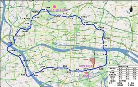 广州地铁11号线线路线图-真相 地铁3号线改道竟是因为图片